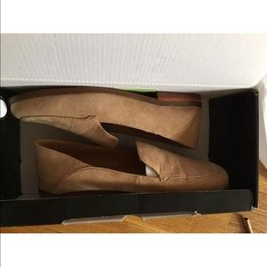 J CREW Microsuede Convertible Loafers Sz 6
